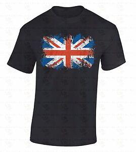 British-Flag-T-SHIRT-Union-Jack-United-Kingdom-UK-Great-Britain-England-Shirt
