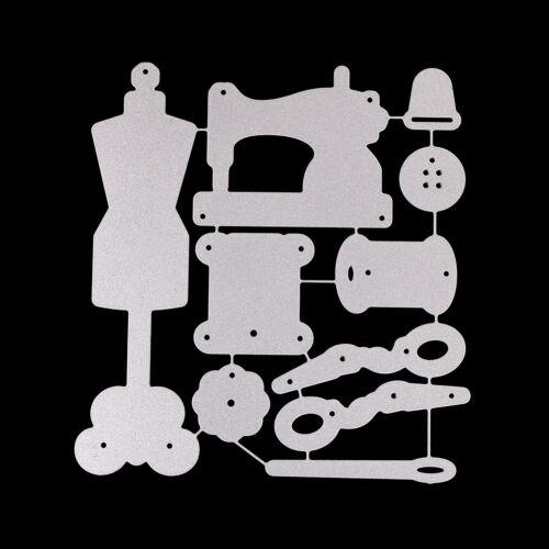 Sewing set Design Metal Cutting Die For DIY Scrapbooking Album Paper Cards RA