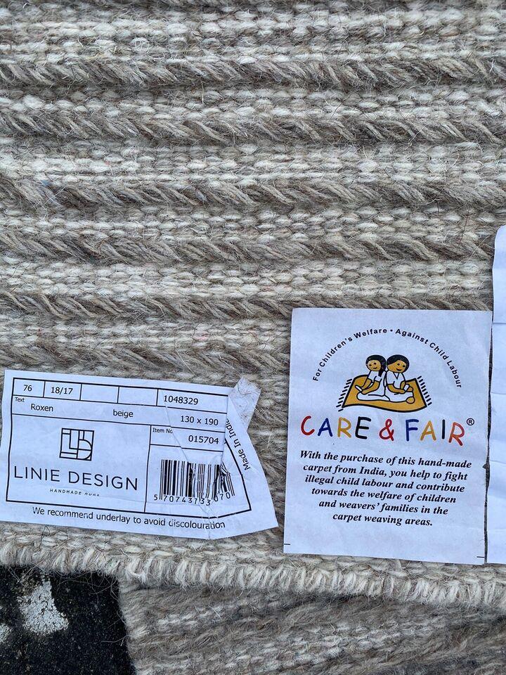 Løse tæpper, Uld, b: 130 l: 190