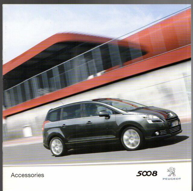 Peugeot 5008 Accessories 2010 11 Uk Market Sales Brochure For Sale Online Ebay