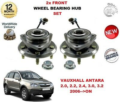 For Vauxhall Antara 2006-2015 Rear Hub Wheel Bearing Kit Inc ABS Sensor