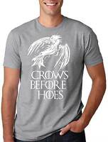Crows Before Hoes Crow Tee Shirt Funny T-shirt Crow Tee Shirt