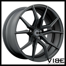 "19"" 20"" XO VERONA GUNMETAL CONCAVE WHEELS RIMS FITS CHEVROLET C7 CORVETTE"
