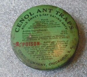 Vintage Mid Century ASCO Electronics Ant-Line Ant /& Roach Killer Poison NOS SEAL
