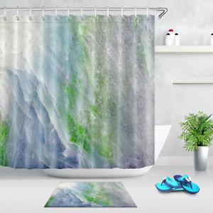 "Polyeater Waterproof Fabric Shower Curtain Set Hooks Christmas Gift Cat 72//79/"""