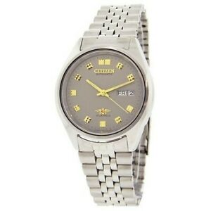 Citizen-Classic-Automatic-Men-039-s-Stainless-Strap-Watch-NH2149-50J