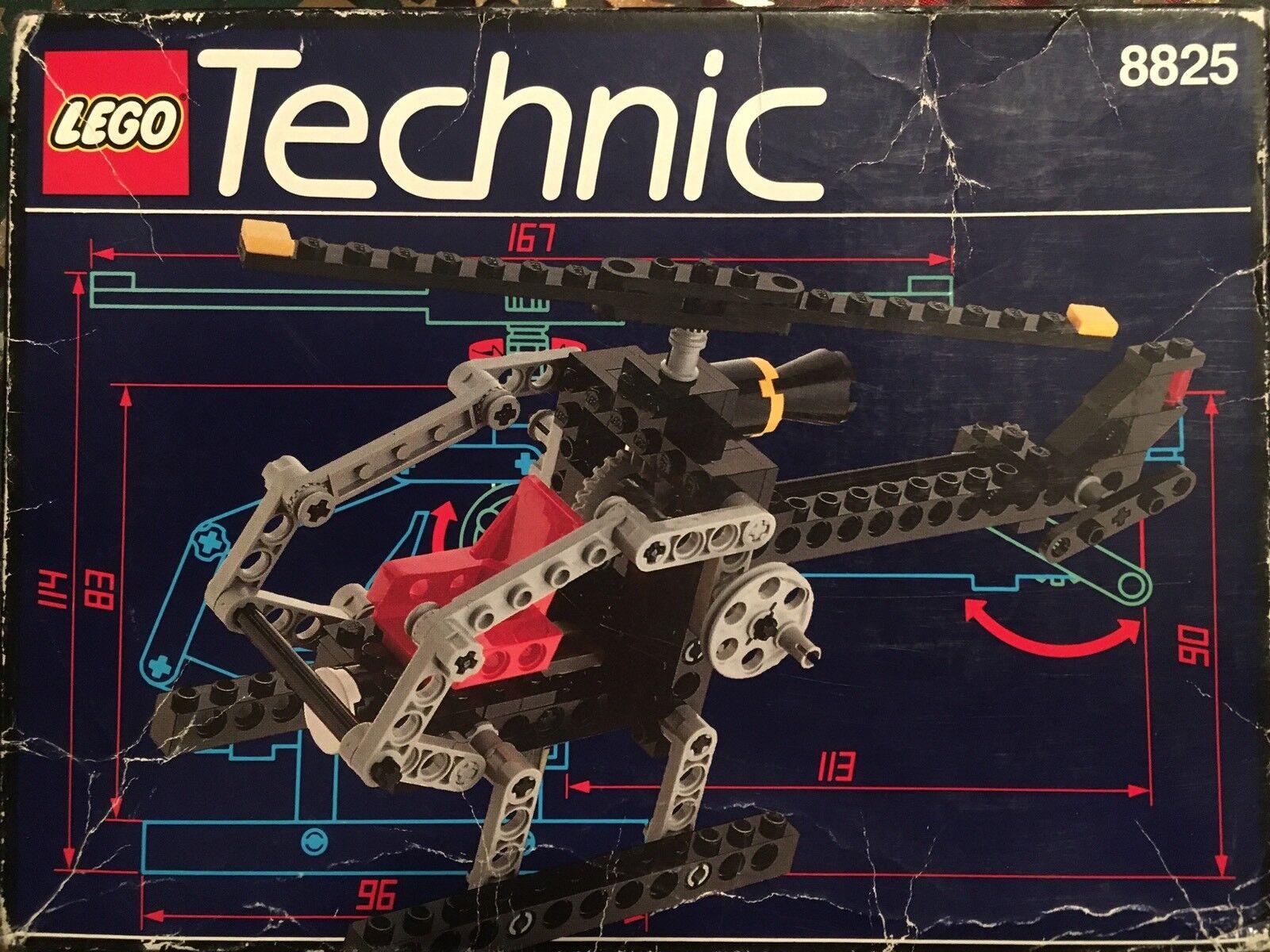 LEGO TECHNIC Elicottero Notturno(Night Chopper) 8825