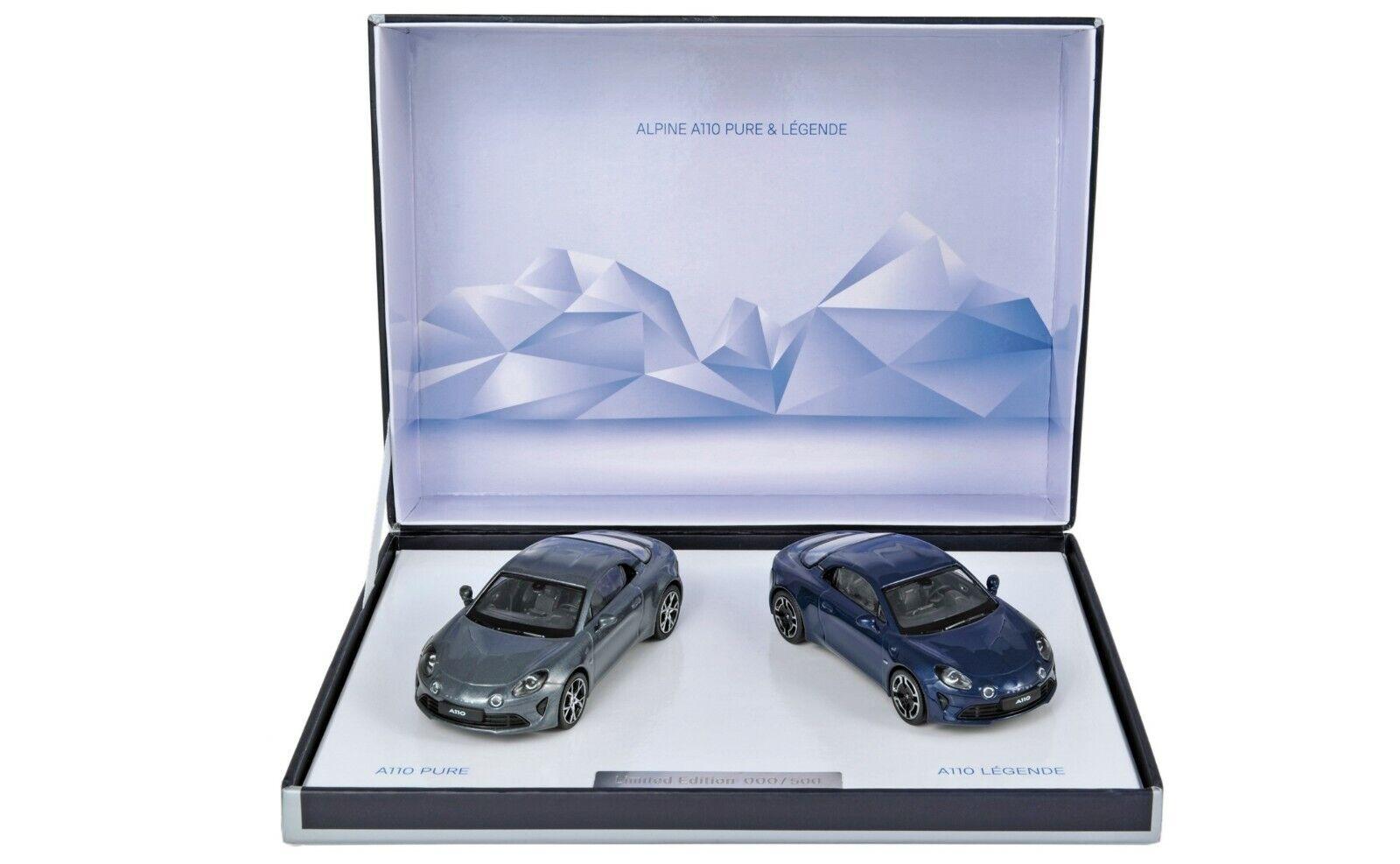 Alpine box has 110 pure and  legend 2018 limitee 500 ex norev 1 43  vente discount