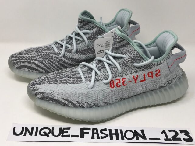 ADIDAS YEEZY BOOST 350 V2 BLUE TINT US 8 UK 7.5 41 41.5 2017 100% 42aa69231