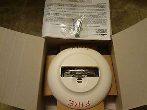 New Cooper Wheelock Ns 24mcch Fw Strobe Horn 24 Vdc