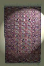 Buchara Teppich Turkmenistan 100% Wolle! Turkmen rug Tapis Tappeto 202x128 cm