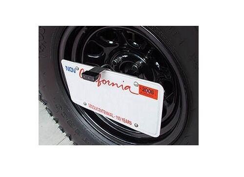 Rock Hard 4x4 License Plate Relocation Bracket w// LED Brake light 6 Foot Harness