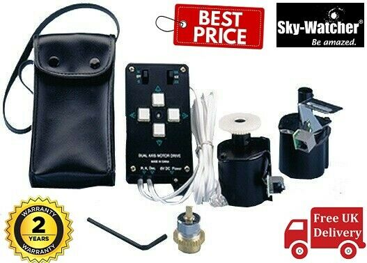 UK Stock Skywatcher RA Motor Drive With Multi Speed Handset For EQ2 Mount