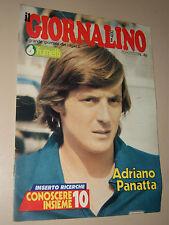IL GIORNALINO=1980/48=ADRIANO PANATTA COVER INTERVISTA=JOANNA LUMLEY=INSERTO=