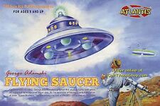 Atlantis George Adamski 1950's UFO Flying Saucer model kit 1/60