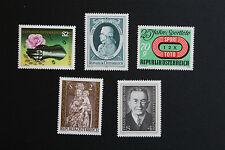 AUTRICHE timbre - Yvert et Tellier n°1297 à 1301 n** stamp Austria (cyn5)