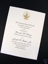 Sealed Envelope! 2013 Obama Official Commemorative Inaugural Invitation