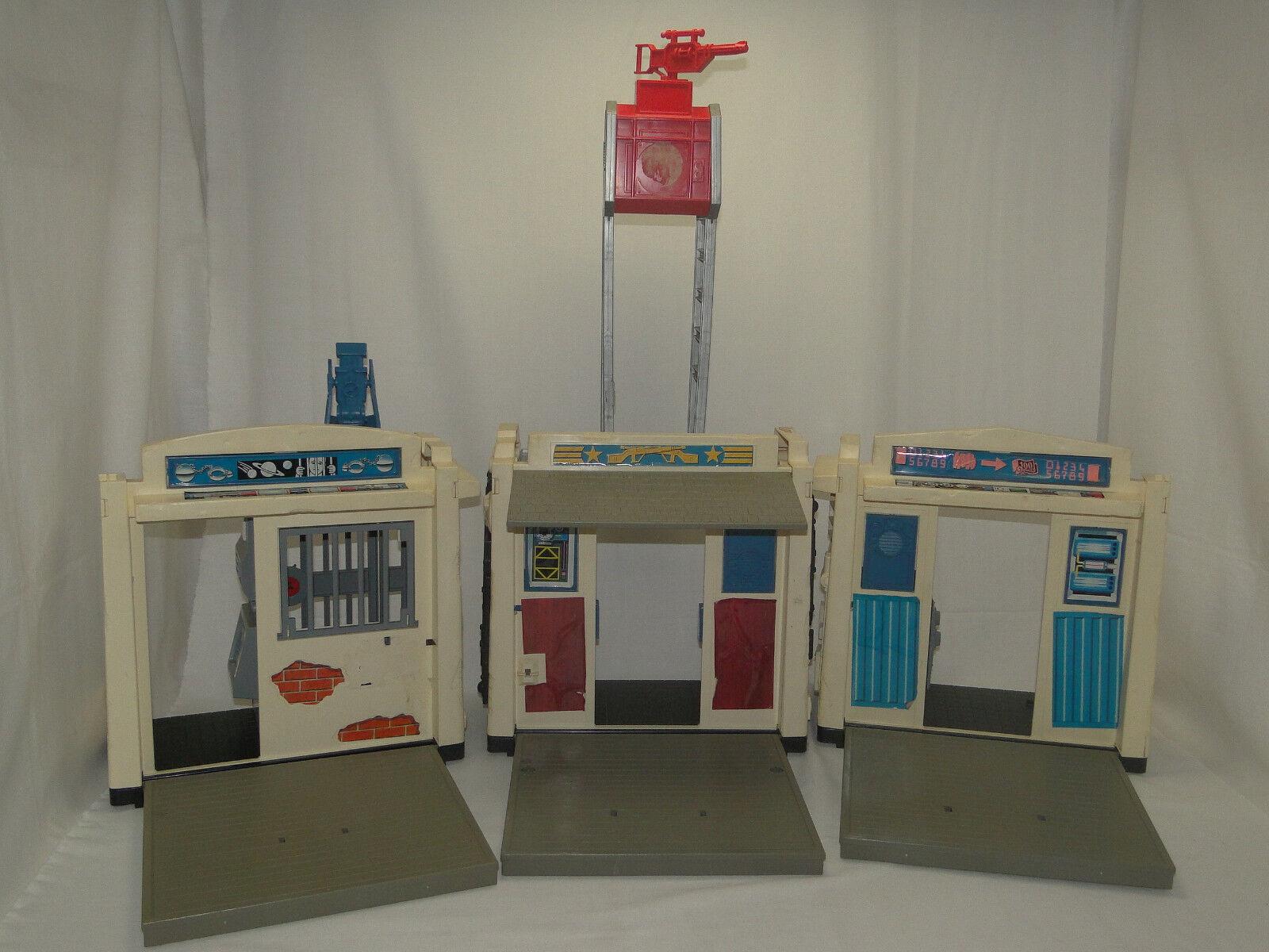 Mattel Marshall Bravestarr - Fort Kerium 1986