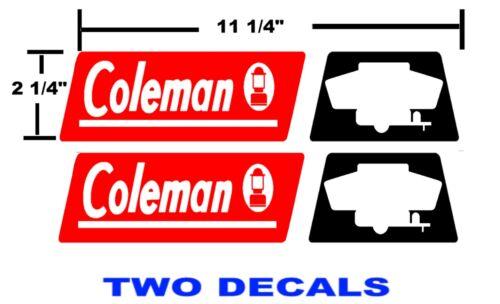 COLEMAN RV FLEETWOOD  DECALS stickers CAMPER
