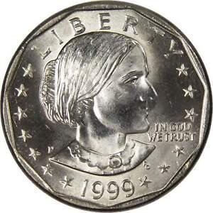 1999-P Susan B Anthony Dollar Uncirculated SBA