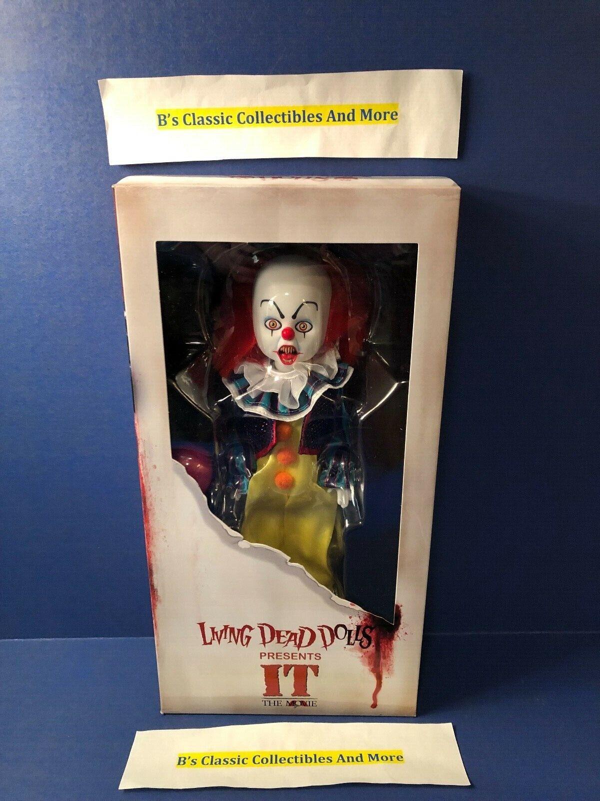 Pennywise Living Dead Dolls-horror-la Película-Nuevo