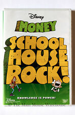 Schoolhouse Rock! MONEY Songs Disney Musical Math Economics Child Education DVD