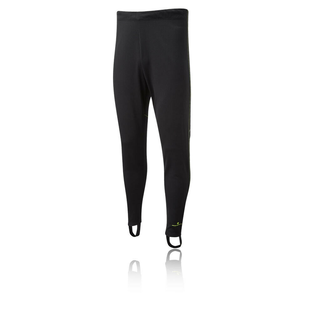 RonHill Mens Everyday Trackster Pants Trousers Bottoms Black Running black bottoms everyday Featured mens pants ronhill running trackster trousers