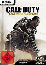 PC Spiel Call of Duty: Advanced Warfare DVD Versand NEUWARE
