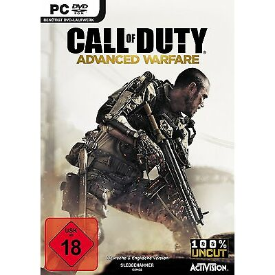 PC Spiel Call of Duty: Advanced Warfare DVD Versand NEUWARE