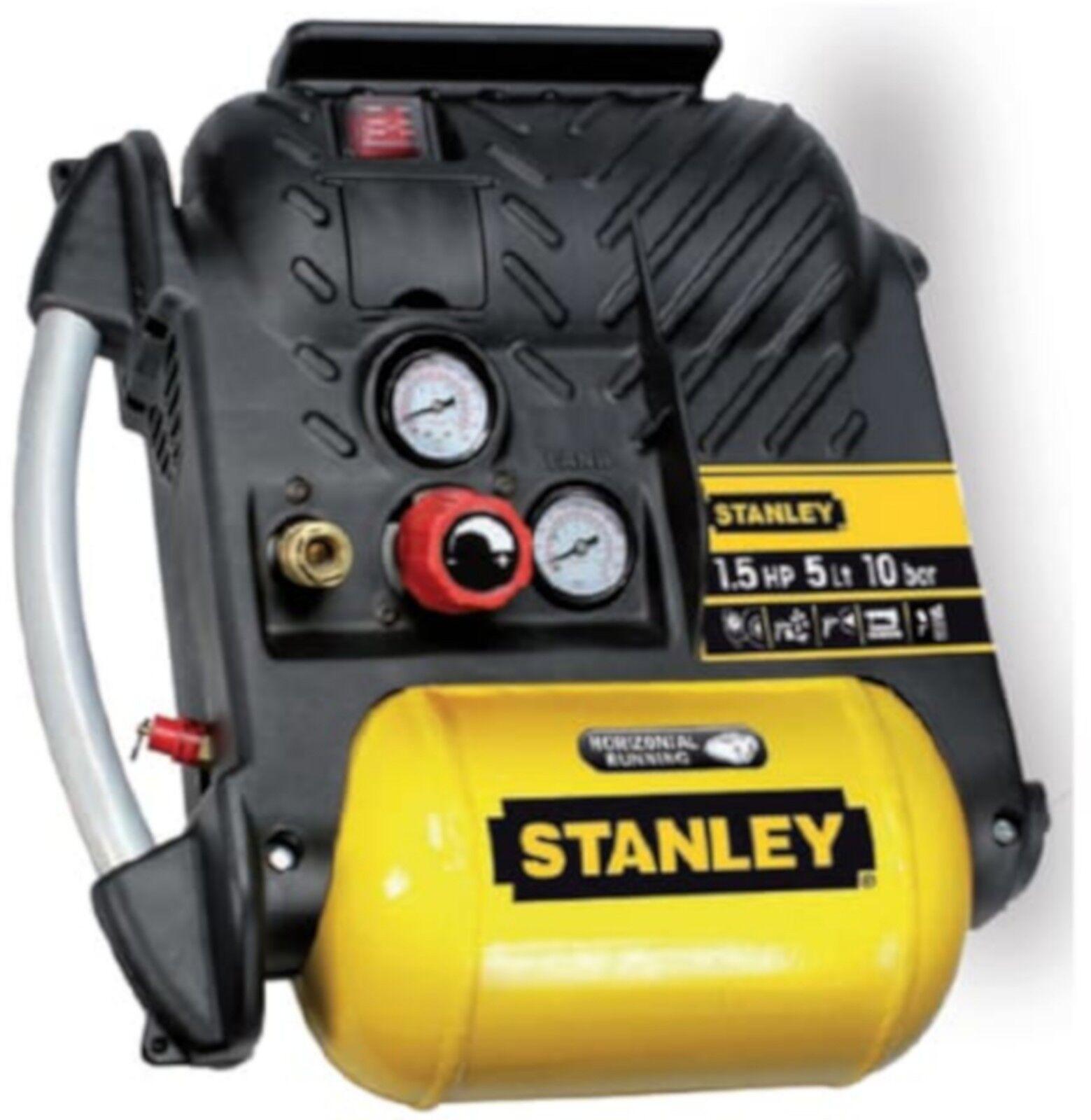Compressore aria Stanley Airboss DN200/10/5 5 lt 1,5 HP HP HP b80248