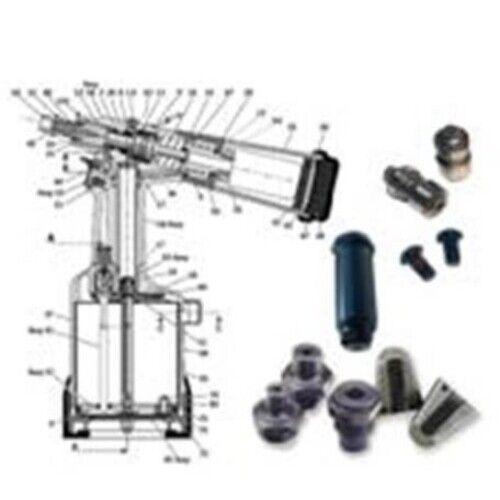 1 PK PNT310M Manual Tool POP Tool Part FAM400-152 Mandrel; M8 x 1.25mm