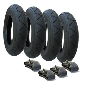 TYRE-amp-INNER-TUBE-SET-SUITABLE-FOR-FOR-MOUNTAIN-BUGGY-DUET-10-034-x-2-0-FREE-POST