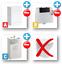 thumbnail 14 - Bathroom-Bundle-500WC-Unit-Toilet-Pan-amp-Seat-Concealed-Cistern-Vanity-Unit