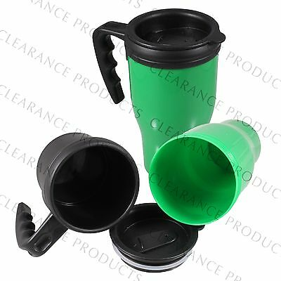 Portable Green Diversion Safe Mug Cup w/ Fake Secret Hidden Compartment Storage