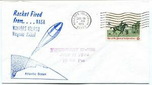 100% De Qualité 1973 Wallops Island Rocket Fired Viper Dart E1.6686 Wff Goddard Base Nasa