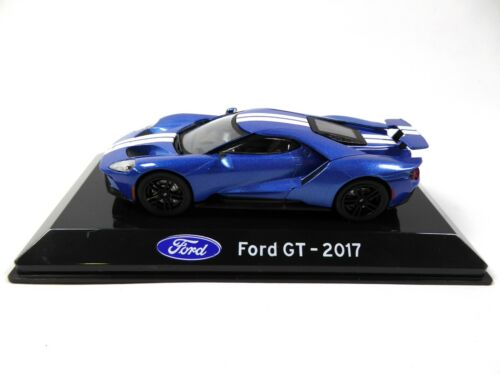 Ford GT 2017-1:43 IXO Supercars Model Diecast Italian Edition S33