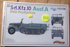 Cyber Hobby 6630 Dragon 1/35  Sd.Kfz.10 Ausf.A 1940 #68 New Sealed
