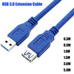 Male-To-Female-USB-3-0-Extension-Cable-Data-Sync-Cord-for-PC-Laptop-Camera