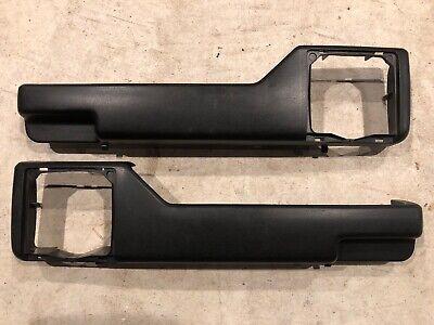 90 92 Mk2 Vw Jetta Black Front Door Panel Map Pockets 4 Gl