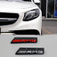 AMG Badge Front Bumper Grill Emblem for Mercedes Benz C-Class C63 W205 W212