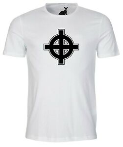 Celtic Cross Design Mens T Shirt Pagan Urban Cool Ireland Urban Hippy Ebay