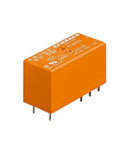 PCB Relay SCHRACK RT424024 //6-1393243-8 2C//O 24VDC 8A pinning 5.0