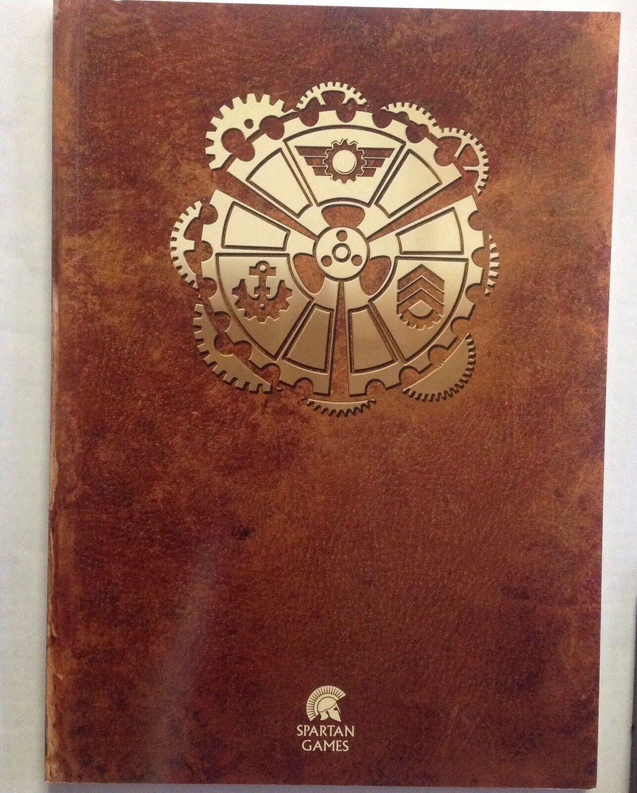 Dystopian Wars Admiral Edition Core Rulebook. Spartan Games.