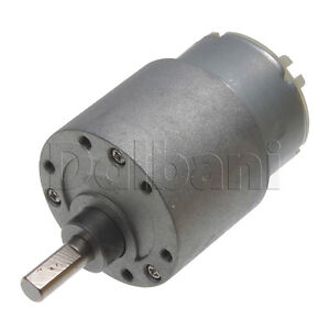 12v dc 10 rpm high torque gearbox electric motor rf 500tb for Waterproof dc motor 12v