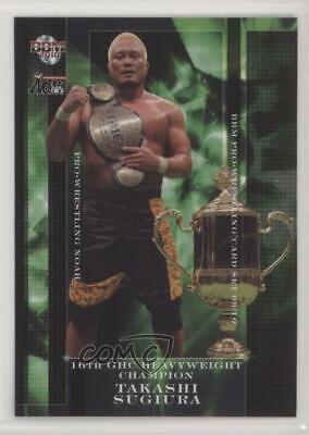 2008-09 BBM Pro Wrestling Noah Katsuhiko Nakajima #34
