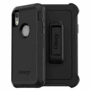 OtterBox-DEFENDER-SERIES-Case-amp-Holster-for-iPhone-XR-Black
