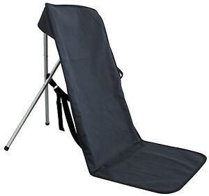 chaise de camping p cheur pliante pour plage pliable etcf1099 ebay. Black Bedroom Furniture Sets. Home Design Ideas
