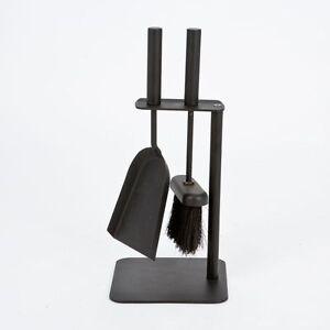 2 Piece Companion Set Fireplace Fireside Chimney Cleaning Brush Shovel Tools