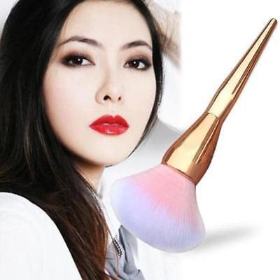 Pink Makeup Cosmetic Brushes Kabuki Face Blush Brush Powder Foundation Tool New