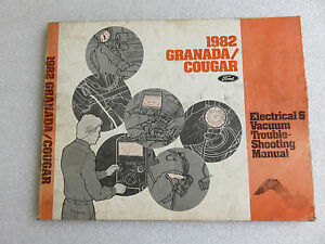 1982 ford granada cougar service manual electrical vacuum wiring Ford 400 Vacuum Diagram image is loading 1982 ford granada cougar service manual electrical vacuum